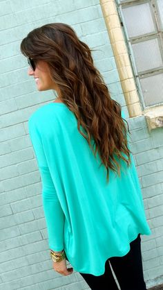 Love the shirt! And the hair!! Jade Piko