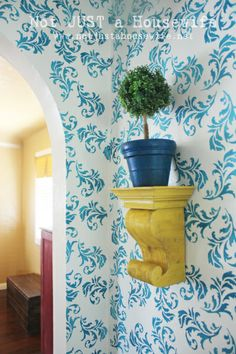 DIY corbel - wow!  I was wondering how to do this.  Now I know how!