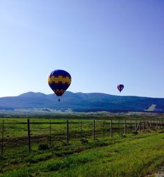 Balloons over Angel Fire New Mexico 2015