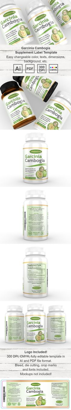 Turmeric Curcumin Supplement Label Template    wwwdlayouts - ingredient label template