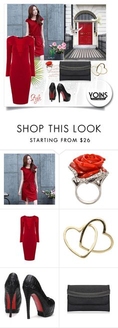 """Win this dress or $30 voucher from Yoins: Contest Entry"" by rose-99 ❤ liked on Polyvore featuring Romantica, Loquet and yoins"