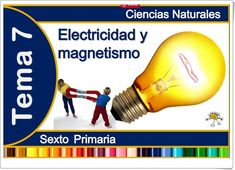 """Unidad 8 de Ciencias de la Naturaleza de 6º de Primaria: """"La electricidad y el magnetismo"""" Ideas Para, Science, Education, Science Nature, Interactive Activities, Blue Prints, Teaching Science, Onderwijs, Learning"""