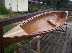 Wee Lassie II Cedar Strip wooden Canoe. $2,500.00, via Etsy. Wood Canoe, Canoe Boat, Kayak Boats, Canoe And Kayak, Sea Kayak, Canoeing, Kayaking, Boat Shelf, Boat Crafts