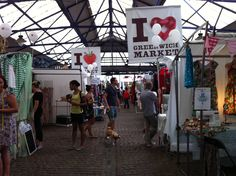 The iconic image of I ❤Greenwich Market! X