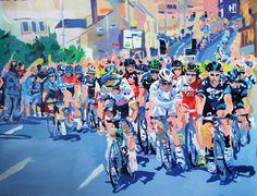 Down Chapel Hill Huddersfield. Tour De France 2015