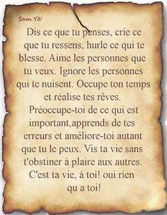 Patience et rigueur ... Some Quotes, Words Quotes, Positive Attitude, Positive Vibes, Plus Belle Citation, Quote Citation, French Quotes, Some Words, Positive Affirmations
