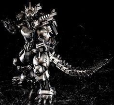 Godzilla: Tokyo S.O.S. MFS-3 Type 3 Kiryu Kai by Aoshima Godzilla, Monster Art, Model Kits, Lizards, Reyes, Type 3, Dragon Ball, Evolution, Air Force