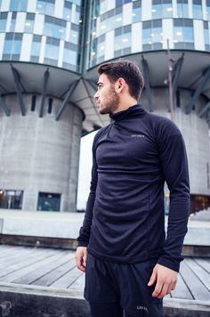 LES DEUX SIRIUS HOODIE - RUNNING CLOTHES - ATHLETICS - NAVY