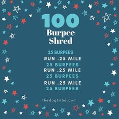 100 Burpee Shred Workout