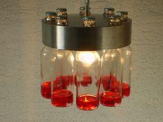 Hängelampen - Edelstahlhängeleuchte - ein Designerstück von lasca2011 bei DaWanda