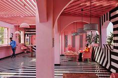 Extraordinary Pink Zebra Restaurant In India – Fubiz Media