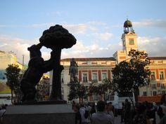 Madrid Bear at Puerta del Sol