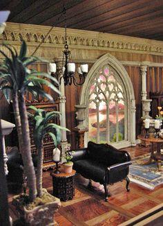 Fantasy Castle Room Box for J. Bush | Flickr - Photo Sharing!