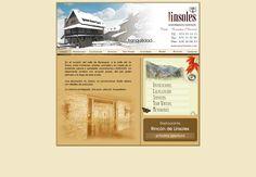 Diseño web para los apartamentos turísticos Linsoles. http://www.linsoles.com