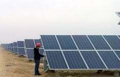 20MWp Solar Farm Location: Hainan state, Qinghai province, China Completion time: December, 2013