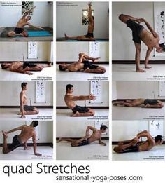 Self Mastery and the Splits Little Bits at a Time For myself, self mastery not only means mastering my relationship with my body, but also ... #HipFlexorsStretches