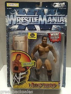 (TAS006459) - Jakks Pacific WWF WWE Wrestle Mania Figure - The Rock
