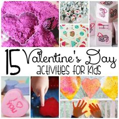 15 Valentine's Day Activities for Kids...Valentine's Day is such a great holiday for kids! Celebrate the day of love with these 15 Valentine's Day activities for kids!