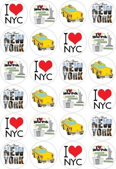 24 New York Statue of Liberty Cupcake Fairy Cake Toppers Edible Paper Decoration in Crafts, Cake Decorating | eBay