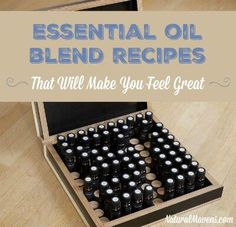A big list of essential oil blend recipes for mind, body and soul. Perfect for the diffuser these will make you feel great. Click here for all the recipes.