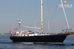 HUTTING 45 for sale | Built by: Hutting Yachts Makkum BV | Built: 1992 | Dimensions: 13,70x4,05x1,90m | Material: Aluminium | 1x Perkins M-90 diesel