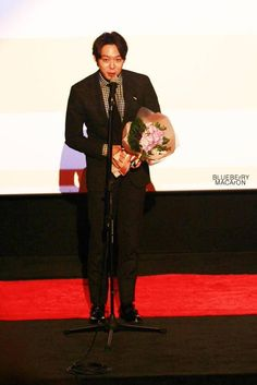 04December2014 Park Yuchun at the 15th Busan Film Critics Association Awards