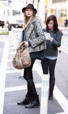 Behati Prinsloo #street-fashion