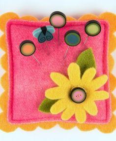 lazy daisy square