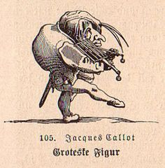 Jaques Callot. Groteste Figur. 1715. (Also see Varie Figure Gobbi, 1616).