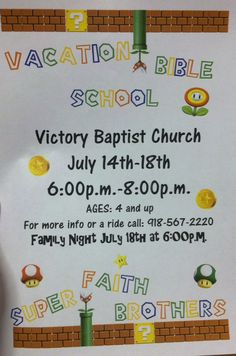 flyer idea vbs pinterest vacation bible school and sunday school. Black Bedroom Furniture Sets. Home Design Ideas