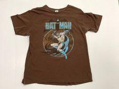 Batman DC Comics Originals T Shirt / Superhero Comic Book   Etsy Batman Shirt, Batman Logo, Comic Book Superheroes, Comic Books, Vintage Band T Shirts, Grey Shirt, Black Fabric, Dc Comics, Vintage Outfits