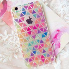 Bird Fruits Colorful Diamond Lattice Case Cover For Apple iPhone 5 5S 5C 6 6S 7 Plus Case Silicone Cartoon Soft Case XY107 XY108