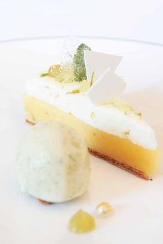 Lemon tart and mojito sorbet, Aleksandre Oliver, Dubern, Bordeaux