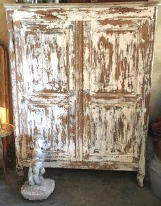 Petite armoire XIXeme | antiquitesdecoration Decoration, Painting, Small Wardrobe, Fir Tree, Pretty, Decor, Painting Art, Paintings, Decorations