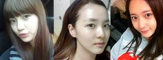 10 Kpop female idols with no make-up - http://www.kpopmusic.com/artists/10-kpop-female-idols-with-no-make-up.html