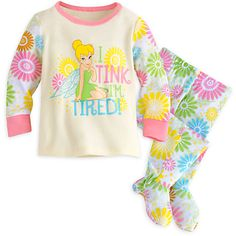 Tinker Bell Footed PJ PALS for Baby | Disney Store