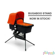 The gamechanging accessory from Bugaboo is finally here! Introducing the Bugaboo Stand: a compact, 5.7 lb frame that converts your Cameleon3, Bugaboo Buffalo and Bugaboo Donkey into both a stationary bassinet (approved for overnight sleeping!) and a high chair. Ideal for traveling and dining out, the stand collapses into its own tiny travel bag so you can take it anywhere. Now in stock!  http://www.pishposhbaby.com/bugaboo-stand.html