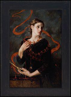 Gail Potocki (oil on linen)