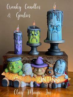 Halloween Food Crafts, Halloween Clay, Dollar Store Halloween, Halloween Miniatures, Halloween Cakes, Halloween Birthday, Holidays Halloween, Spooky Halloween, Vintage Halloween