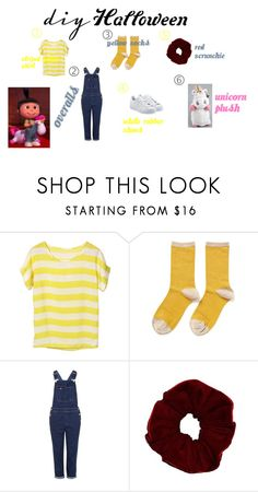 """""""Agnes"""" by darkdandelion ❤ liked on Polyvore featuring Hansel from Basel, Topshop, adidas Originals, DIY, DIYHalloween and diycostume"""