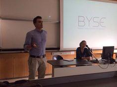 """La presentazione del primo Pitch tenuto da Byse (Bocconi Young Students Entrepreneurs) """"Present Your Idea, Develop Your Network And Join The Team"""""""