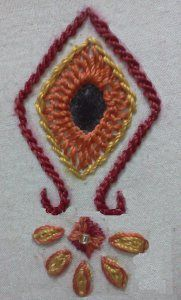 Here are Few works with the square mirror. A square mirror border Hand Embroidery Projects, Hand Embroidery Tutorial, Embroidery Works, Hand Embroidery Stitches, Hand Embroidery Designs, Embroidery Patterns, Lace Beadwork, Kutch Work, Thread Jewellery