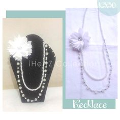pearl necklace - ihertz IDR 40.000 contact : 08170074413