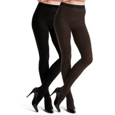 Spanx Blackbitter Reversible Tight End Tights - Women's ($34) ❤ liked on Polyvore featuring intimates, hosiery, tights, spanx hosiery, spanx, spanx stockings, spanx tights and spanx pantyhose