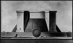 Étienne-Louis Boullée, Fort  via archiveofaffinities on tumblr