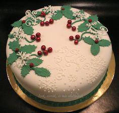 Ízek...torták...és más állatfajták: Karácsonyi torta