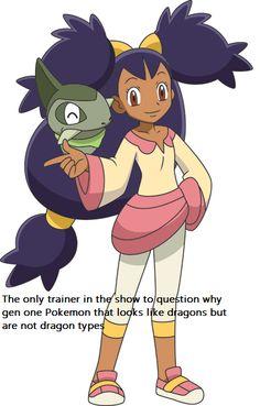 #pokemon #iris #axew