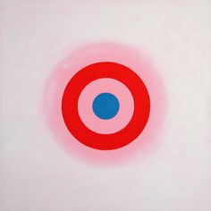 Circle painting by Kenneth Noland