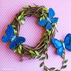 Felt Butterflies - Lia Griffith