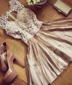 homecoming dresses,champagne round neck lace tulle short prom dress, cute homecoming dress